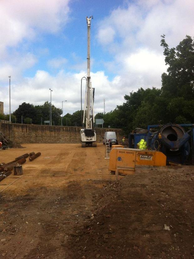 Appleton Point Bradford Piling Commenced