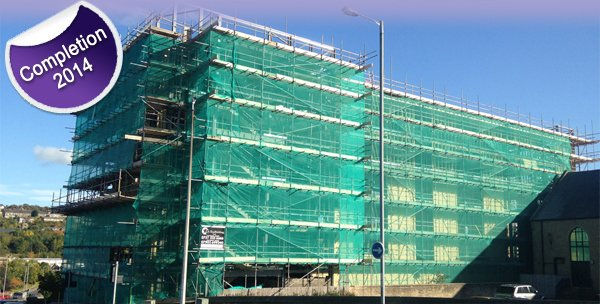 Appleton Point Student Accommodation Construction Progressing Well & on Target