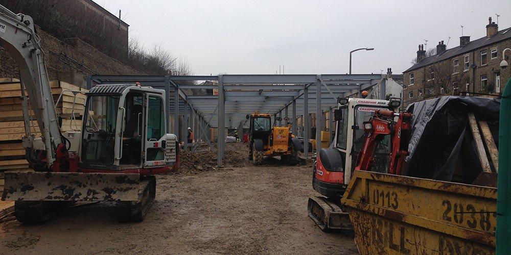 Construction Update Calderdale House