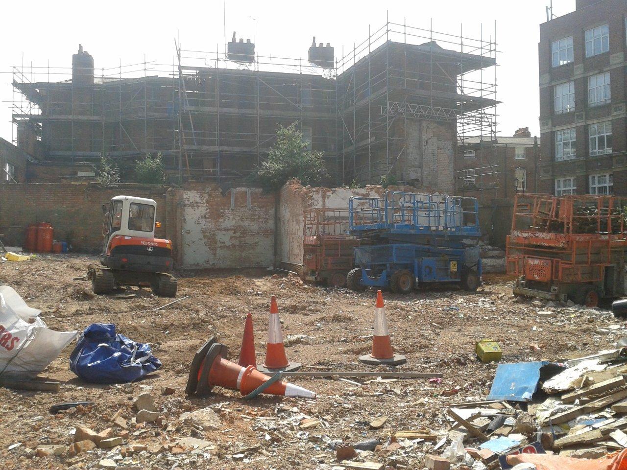 Construction Update JQ Hotel Birmingham
