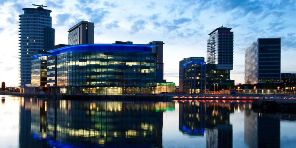 Salford Quays Investment Regeneration in Manchester