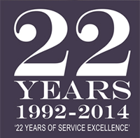 22 Years of Service Excellence