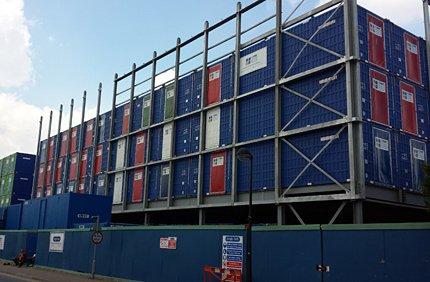 Royal Albert Docks Hotel Construction