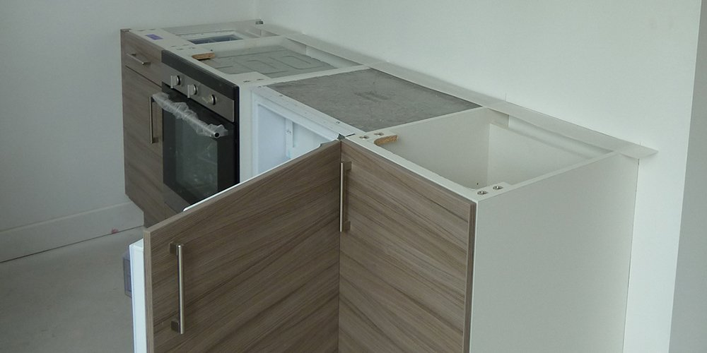 Kitchens & Bathrooms Installed at Studio 8 as Completion of Apartments Nears