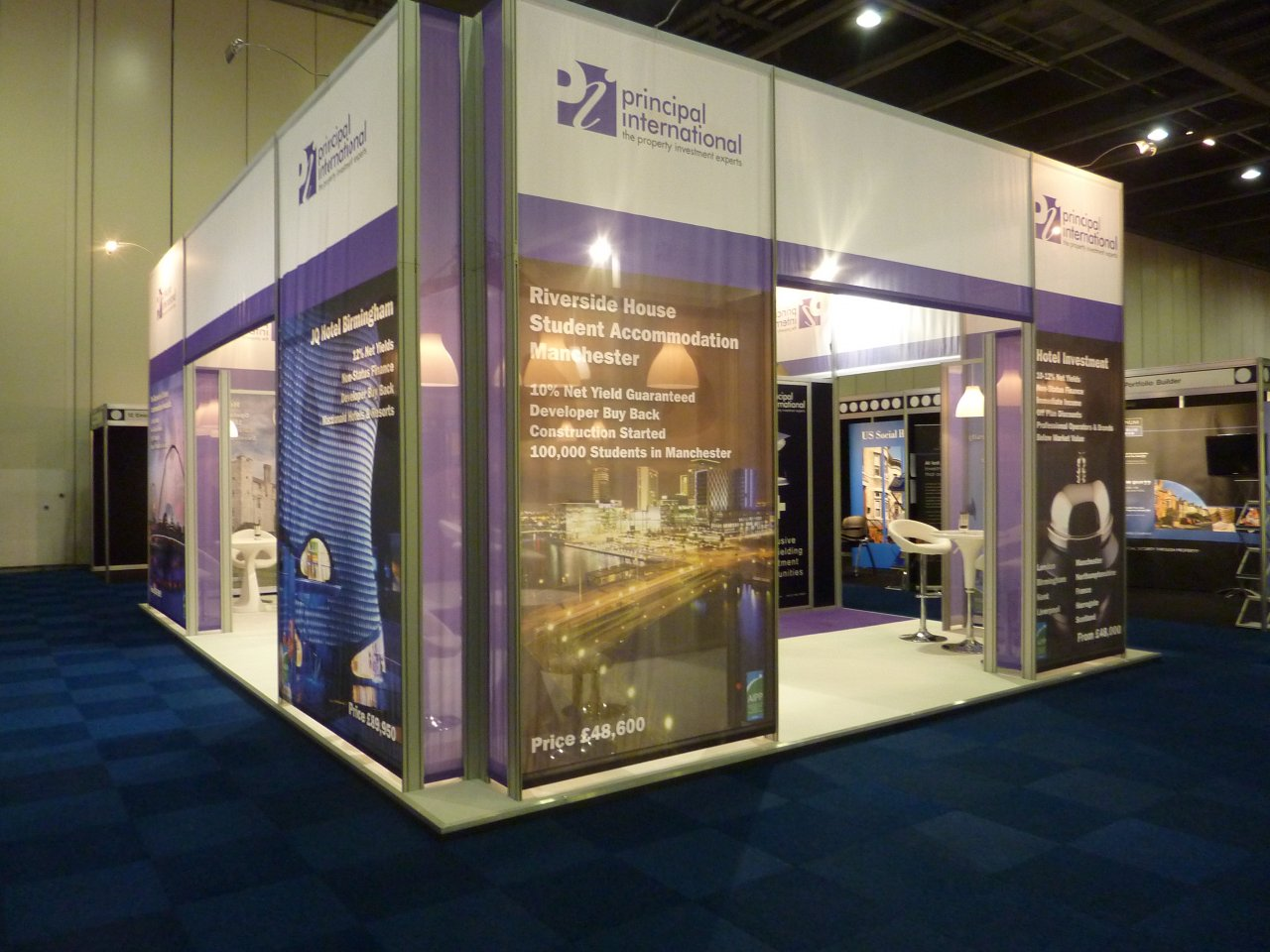 Principal International Exhibits at the Autumn Property Investor Show