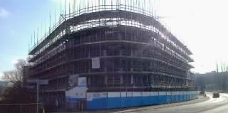 Riverside House Manchester - Build on Schedule for Student Development