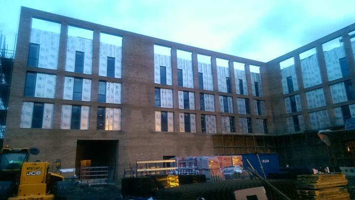 Construction Continues to Progress Well at the Royal Albert Docks Hotel