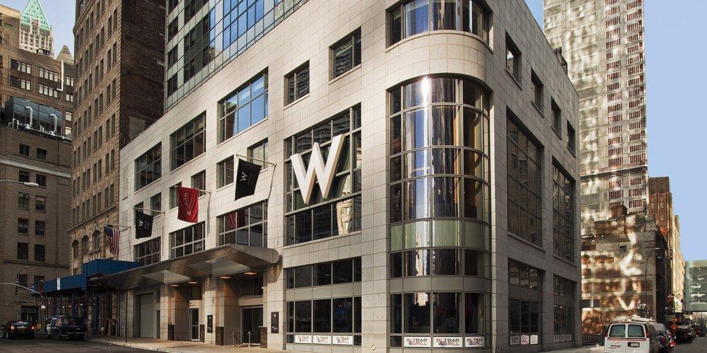 W Hotel Investment Downtown Manhattan