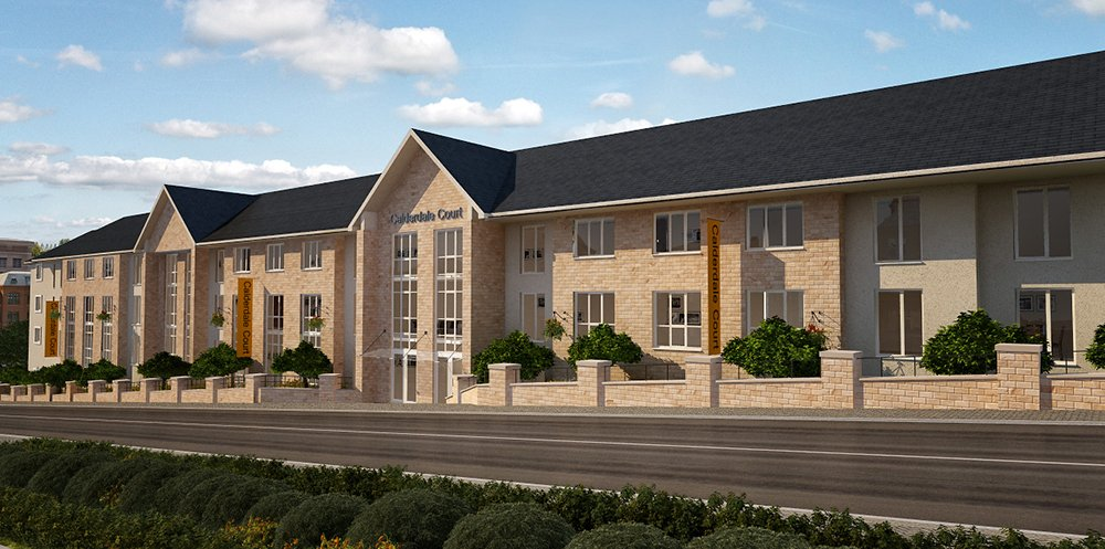 Construction Begins on Frame at Calderdale House Care Home