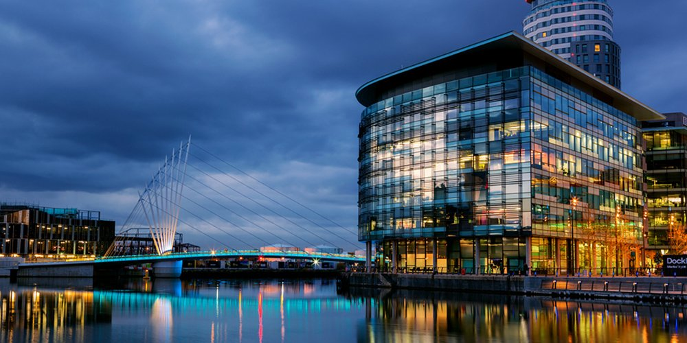 UK Buy-to-Let Investment Manchester View Salford