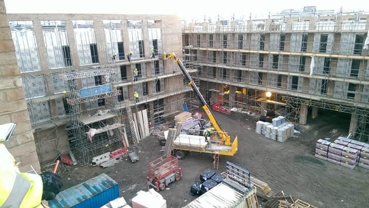 Construction Update The Royal Albert Docks Hotel